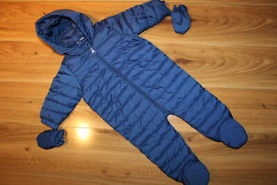 NEXT boys thin snowsuits / pramsuits 6-9 months *I'll combine postage*(126)