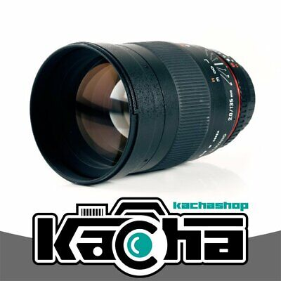 NUEVO Samyang 135mm f/2.0 ED UMC Lens for Canon EF Mount