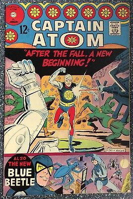 Captain Atom #84 Steve Ditko Art.