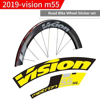 New 2019 Vision Metron M30 40 55 Road Bike Wheel Sticker for Cycling Race Decals