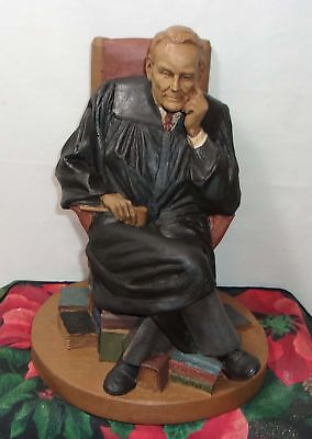Tom Clark Gnome - Judge Snepp Figurine - Cairn Wood Spirits