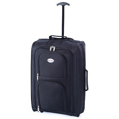 Ryanair Easyjet Carry-On Cabin Approved Hand Luggage Trolley Suitcase Case Bag