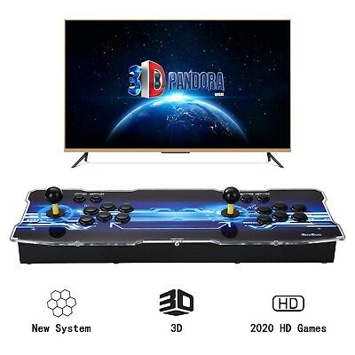 [2200 HD Retro Games] 3D Pandoras Box Arcade Video Game Console 1080P Game Sy...