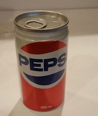 Vintage Pepsi Pull Ring Tab Never Filled Sealed 12 oz. Cola Can Empty Toronto