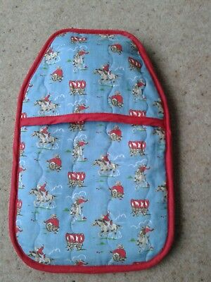 Cath Kidston 'Cowboys' Hot water bottle cover with hot water bottle included