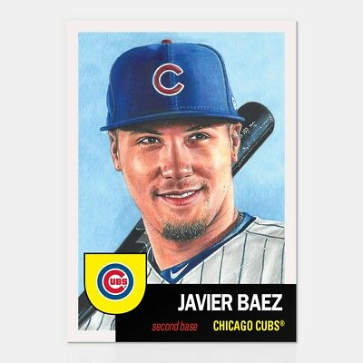 In hand, ready to ship...2018 TOPPS LIVING SET #103 JAVY BAEZ  FREE SHIPPING!