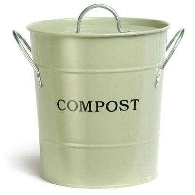 NEW HEAVEN IN EARTH | Metal Compost Bucket - Sage Garden Trading Botanex