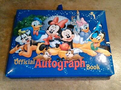 WALT DISNEY WORLD~ Official Autograph Book