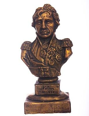 """6"""" Horatio Nelson bust vice admiral the Royal Navy British officer statue"""