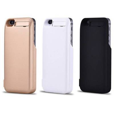 4200mAh External Battery Charger Case Cover Power Pack For Apple iPhone 5 5s SE