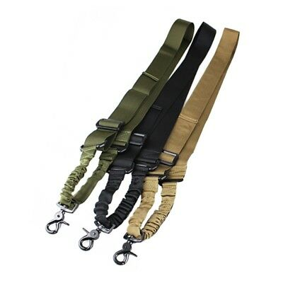 Hot Tactical Rope Solid Color One Single Point Adjustable Outdoor Safety Sling