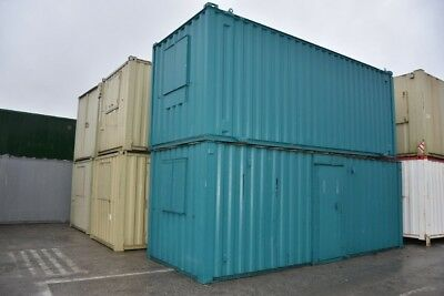 Portable Building 21' x 8' Anti-Vandal Offices and Canteens - Site Cabins
