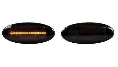 Smoke Schwarz LED Blinker Nissan X-Trail T31 SB1