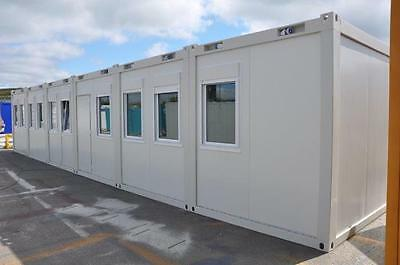 New Portable Buildings - Seven bay modular office, site accommodation