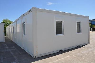 New Portable Buildings - Eight bay modular office, site accommodation