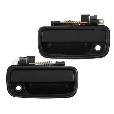 Two Exterior Front LH RH Door Handle For 95-04 Toyota Tacoma TO1310128 TO1310117