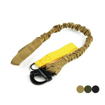 Tactical Lanyard Firm Climbing Rifle Gun Sling Quick Release Safety Task Rope