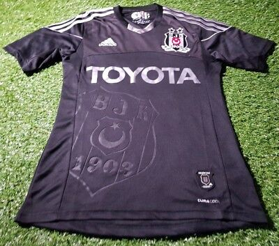 besiktas turkey turkish football soccer medium mans adidas 110 year home jersey