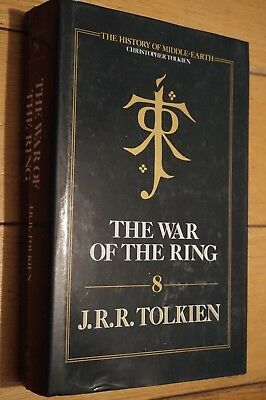 The War Of The Ring 8 - J R R Tolkien 1st UK Ed (1/1) HB 1990 Lord of the Rings