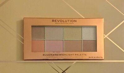 Makeup Revolution Blush And Highlighter Palette Limited Christmas Edition BNIB