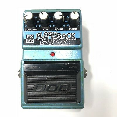 DOD Digitech FX66 Flashback Fuzz Analog Distortion Rare Guitar Effect Pedal