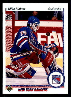 1990-91 Upper Deck #32 Mike Richter Rangers Rookie (ref 28093)