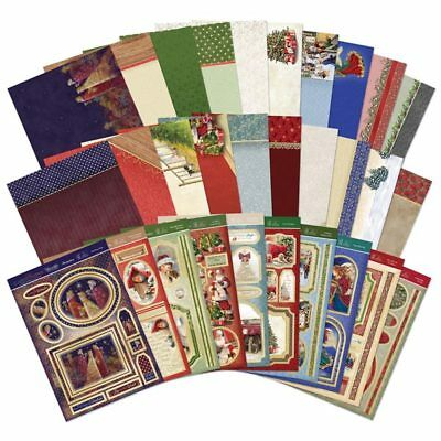Hunkydory A4 Luxury Topper Collection Classic Christmas | Set of 10