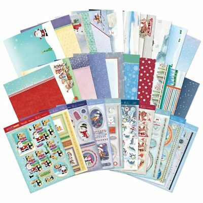 Hunkydory A4 Luxury Topper Collection The Magic of Christmas | Set of 10