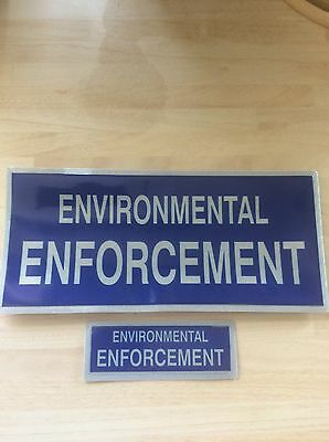 Set of Environmental Enforcement Badges