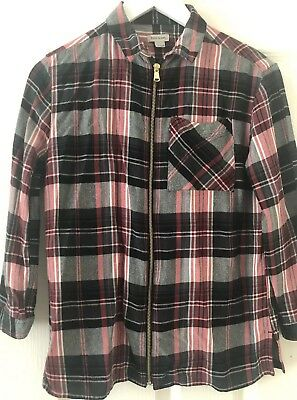 River Island Girls Red And Black Checked Age 11-12