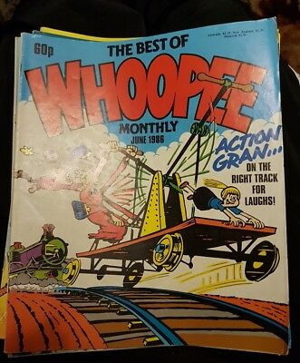THE BEST OF WHOOPEE MONTHLY Comic - June 1986