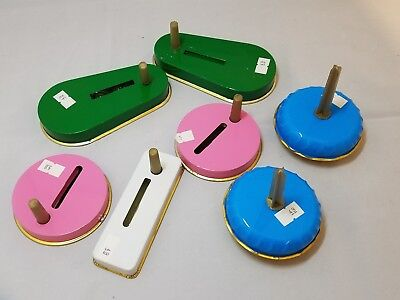 Vintage Tin Noise Makers Toppers Lot Of 7