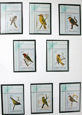 Tome E Principe  Stamps Birds 1983 Mnh Note 18 Stamps In All
