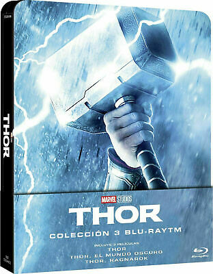 Thor Trilogy SteelBook [Blu-ray] New & Sealed!