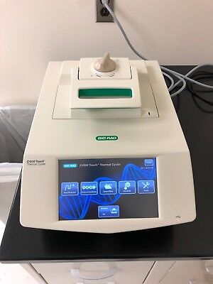 BIO-RAD C1000 TOUCH 96 Well PCR Thermal cycler-Year 2015-Excellent Condition