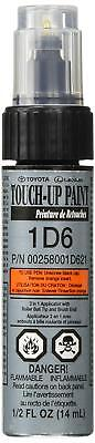 Genuine Toyota 00258-001D6-21 Silver Sky Metallic Touch-Up Paint Pen 13 ml New