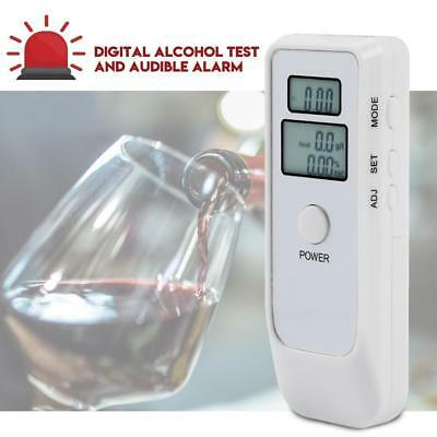 Advance LCD Digital Police Breath Alcohol Tester Breathalyzer Analyzer Detector