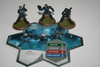 Heroscape Jandar's Oath MICROCORP AGENTS Wave 3 Figures Expansion Set with Card