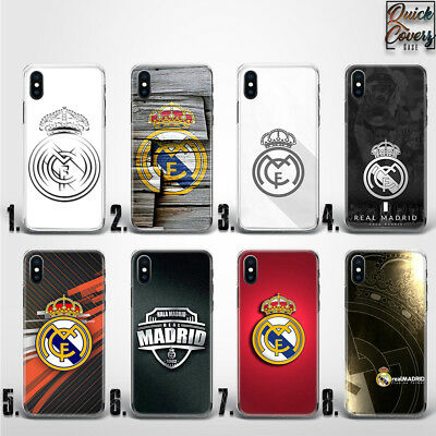 Football Real Madrid Fc Soccer Team Logo Thin Uv Case Cover For Iphone
