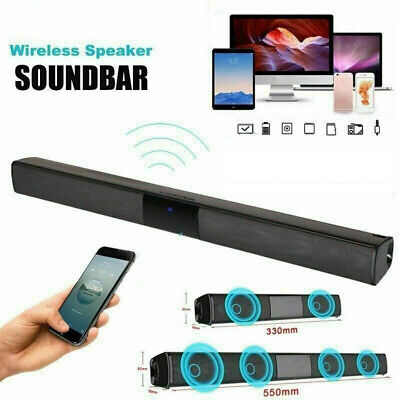 3D Surround Speakers Sound Bar System Wireless Bluetooth Soundbar Home Speaker