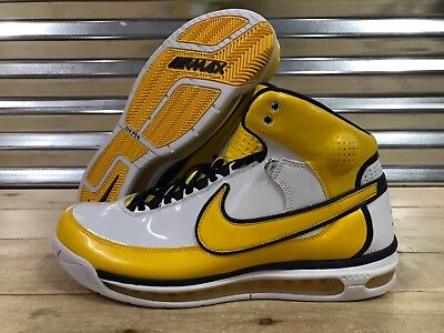 new arrival d8378 f6502 Nike Air Max Elite Family Force Jermaine ONeal Pacers Shoes SZ ( 316903-