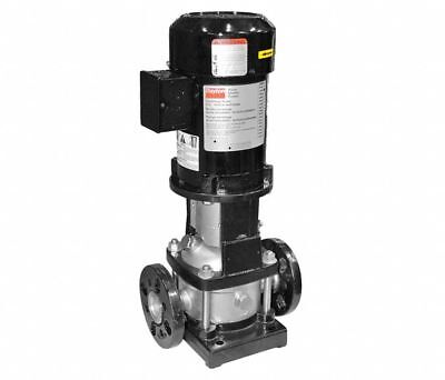 """2-Stage Booster Pump 1/2 HP 1-1/4"""" Flanged Inlet/Outlet 208-240/480VAC TEFC"""