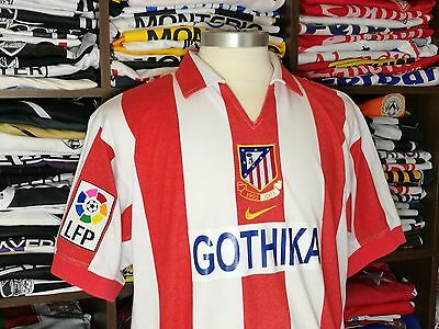 ATLETICO MADRID home 2003/04 shirt-F.TORRES #9-Chelsea-Liverpool-Camiseta-Jersey