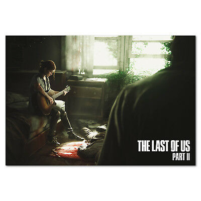 The Last of Us Part II Poster -  Ellie Art - High Quality Prints