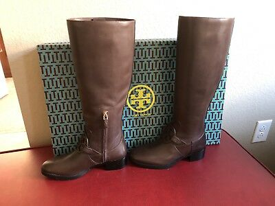 a591809aa Tory Burch Miller Boot Burnt Chocolate Size 7