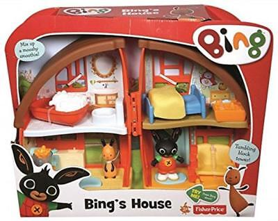 Bing Home Playset Xmas Gift Multi-Coloured Play House Toy Set Kids Children