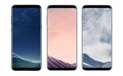 Samsung Galaxy S8+ Plus G955U GSM Unlocked (+AT&T T-Mobile Verizon) All Colors