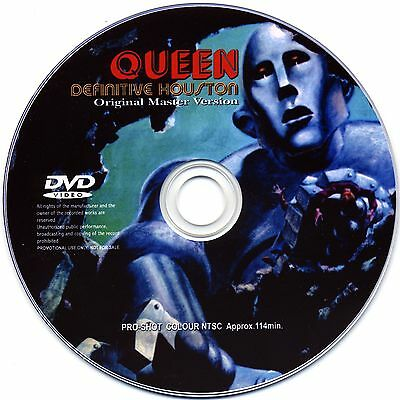 Queen Live At The Summit Houston Texas Dvd 1977 News Of The World Tour Mercury