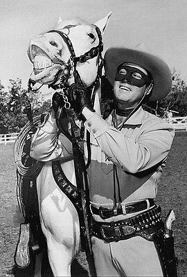 The Lone Ranger *2X3 Fridge Magnet* Clayton Moore And Silver Horse Tv Show Photo