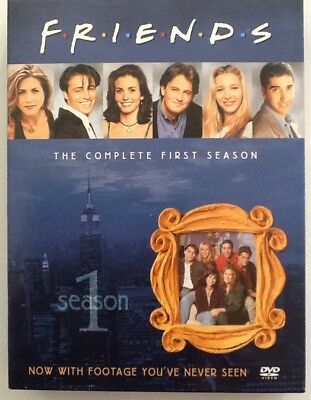 Friends The complete First Season, 4 DVD Set